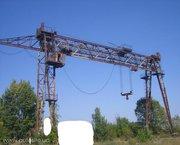 Продаем козловой кран КС-50-42Б,  г/п 50 тонн,  1983 г.в.