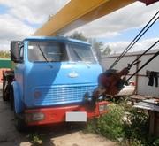 Продаем автокран КС-3577-3-1 Ивановец,  14 тонн,  МАЗ 5334,  1990 г.в.