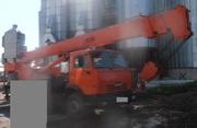 Продаем автокран КТА-25 Силач ДАК,  25 тонн,  КАМАЗ 55111,  2007 г.в.