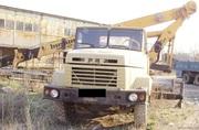 Продаем автокран Bumar FAMABA DS-0183T,  16-18 тонн,  1990 г.в.,  КрАЗ 250 1994 г.в.
